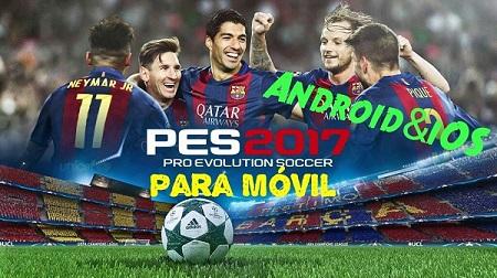 Pro Evolution Soccer 2017 Android e iOS