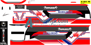 Download livery bus Borlindo Legacy SR2 DD