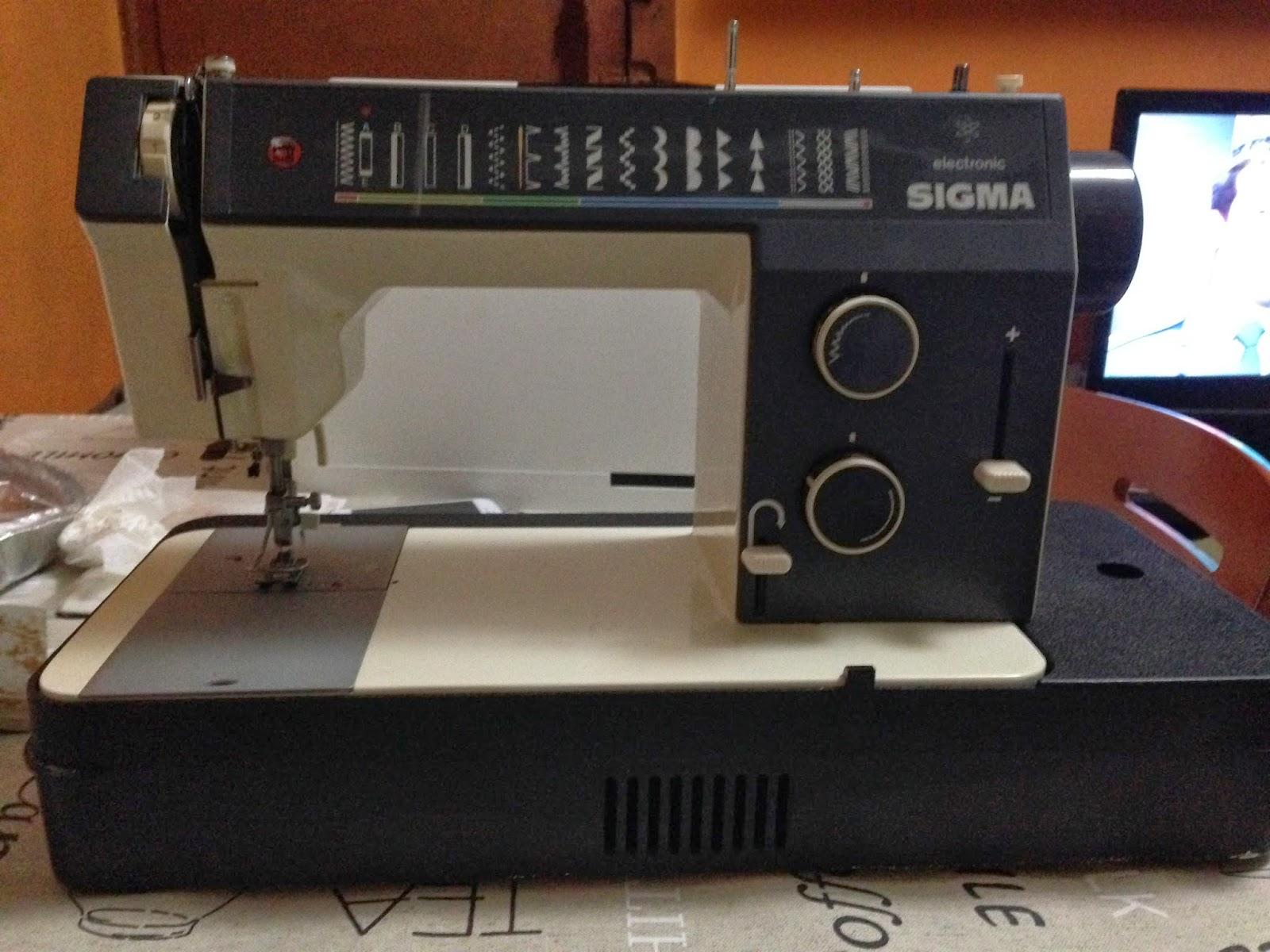 Mis Primeras Puntadas Os Presento Mi Máquina Sigma 2002