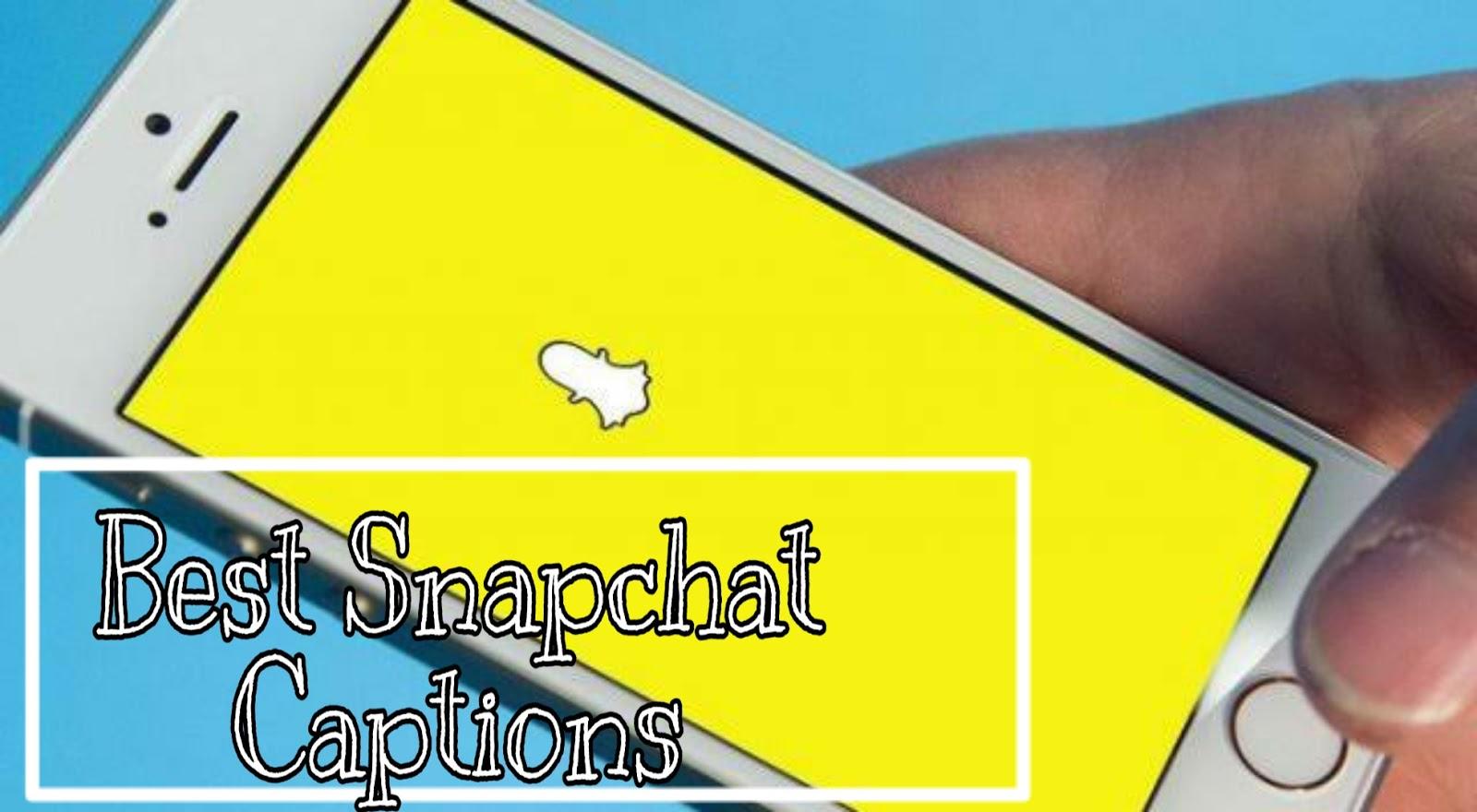 Snapchat captions