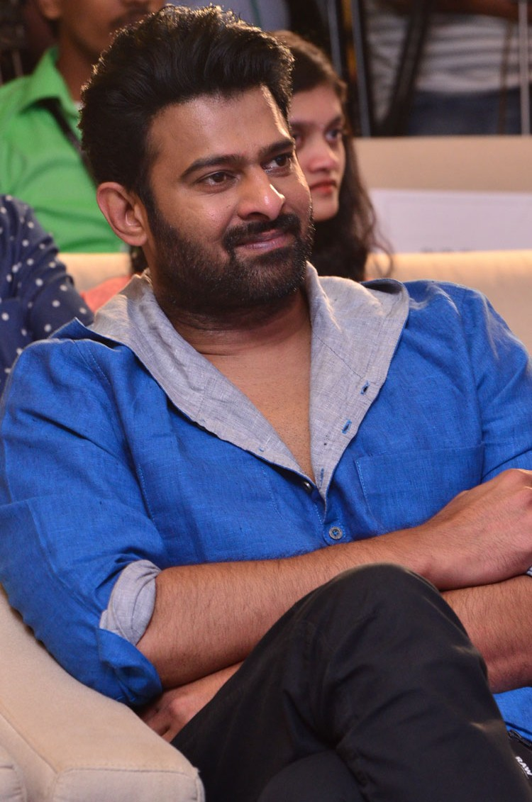 Prabhas at The World of Baahubali Press Meet Stills