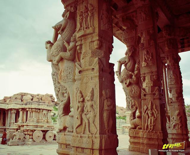 The grandiose Vitthala Temple of Hampi