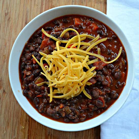 Chipotle Black Beans recipe are an easy healthy meal is a healthy low calorie meal served on it's own or great served as a side from Serena Bakes Simply From Scratch.
