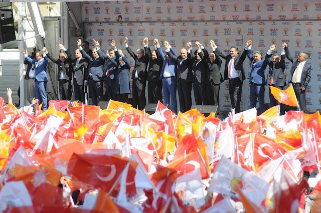 الذكرى الـ 18 لتأسيس حزب العدالة والتنمية في تركيا