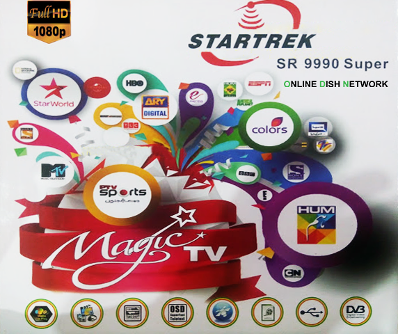 Startrek SR 9990 Magic Super New Software 2018 download - Online