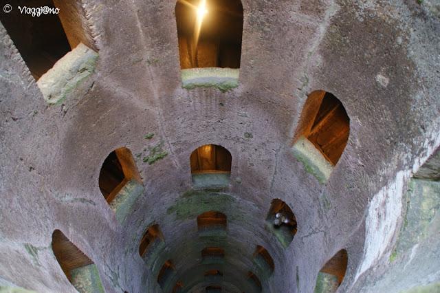 Il Pozzo di San Patrizio ed il sistema elicoidale sono uno dei simboli di Orvieto