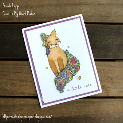 card created with Wildflower Friendship