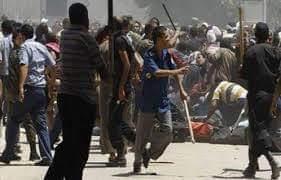 إصابة شخص فى مشاجرة بالأسلحة النارية بين عائلتين فى طهطا بسوهاج