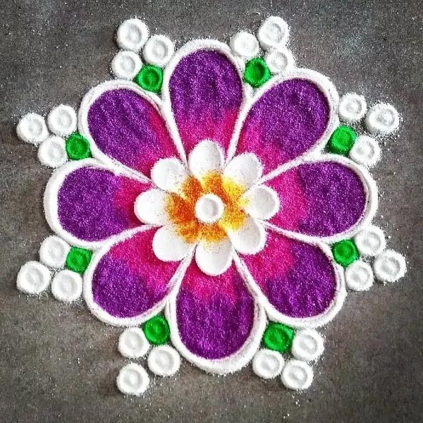 Purple_and_white_coloers_rangoli_design