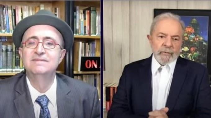 Lula no Reinaldo Azevedo: Deu para sentir o cheiro de mofo pela tela do computador