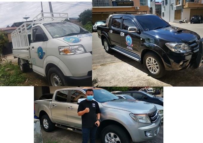 Tiga Unit kendaraan Operasional sekaligus Mobil Komando Untuk F SP LEM SPSI BATAM