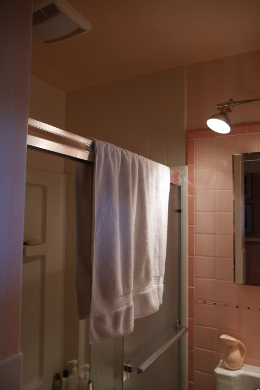 parcel & frock: PINK BATHROOM REMODEL PLANS