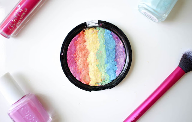 These are the Best Rainbow Highlighters + DIY Your Own Rainbow Highlighter!