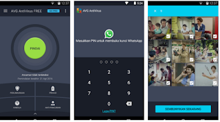 Download AVG  Antivirus Android Gratis 2017 Terbaru