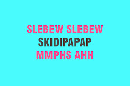Pengertian Skidipapap Slebew Hohohihe dan Sejenisnya