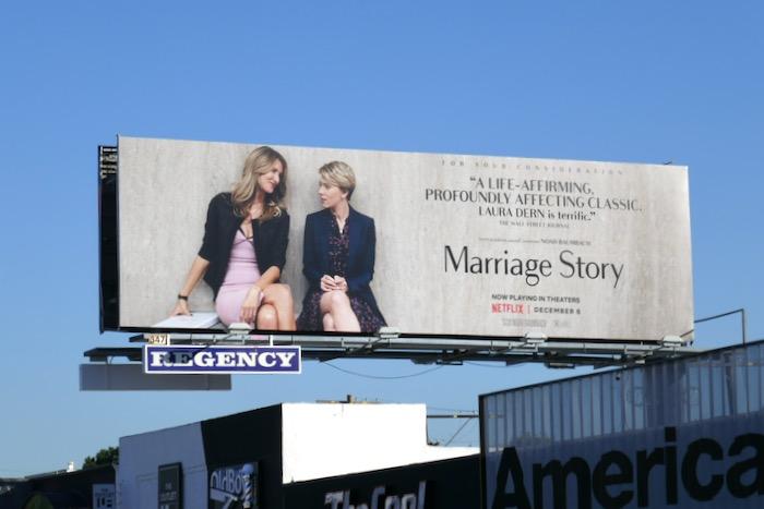 Laura Dern Marriage Story FYC billboard
