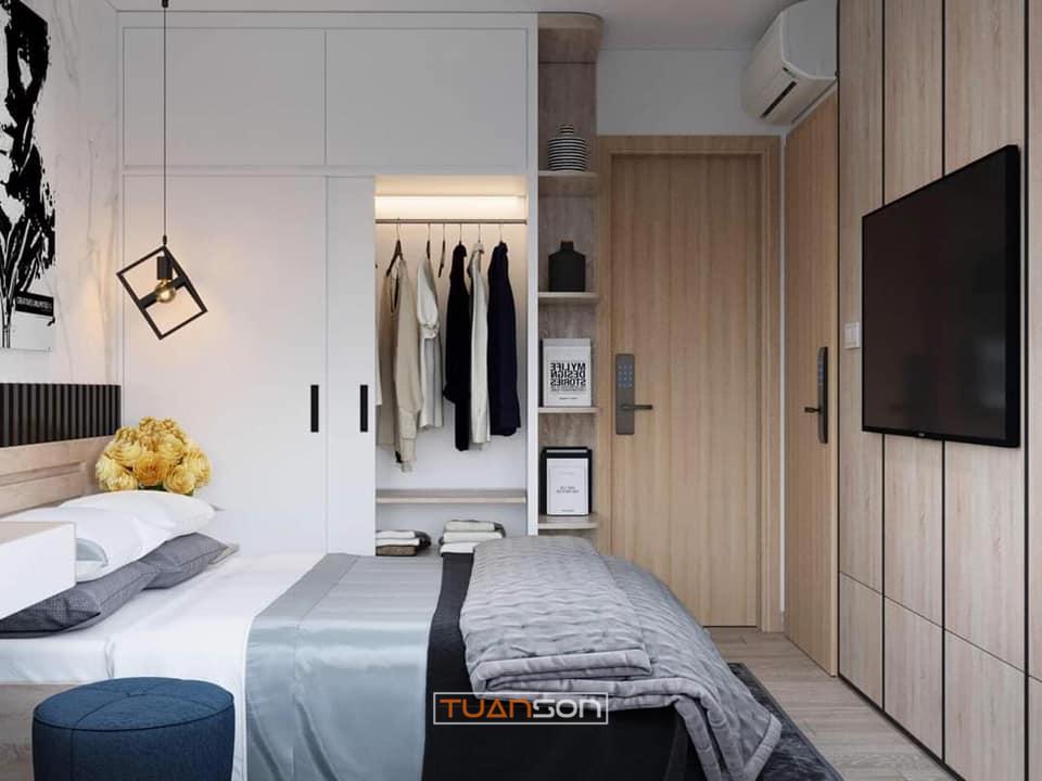 Thiết Kế Nội Thất Căn 65m2 Vinhomes Smart City hiện đại sang trọng