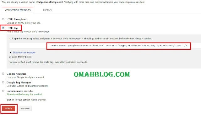 Cara Mendaftarkan Blog Pada Google Webmaster