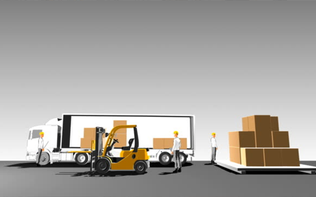 Be safe while loading and unloading equipment