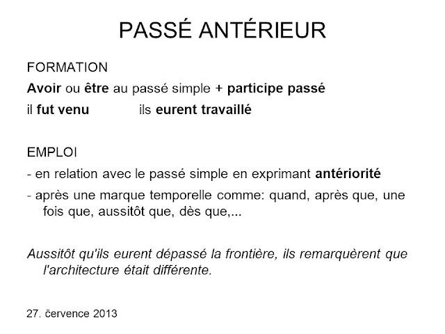 Le passé antérieur - gramatyka - Francuski przy kawie