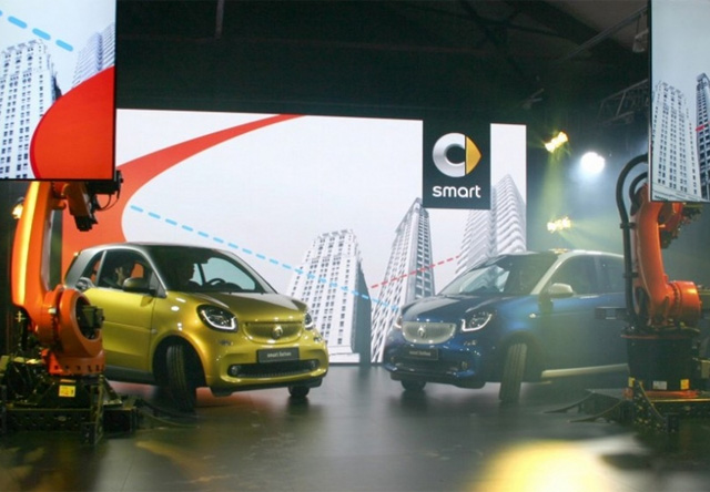 Fortwo и Forfour