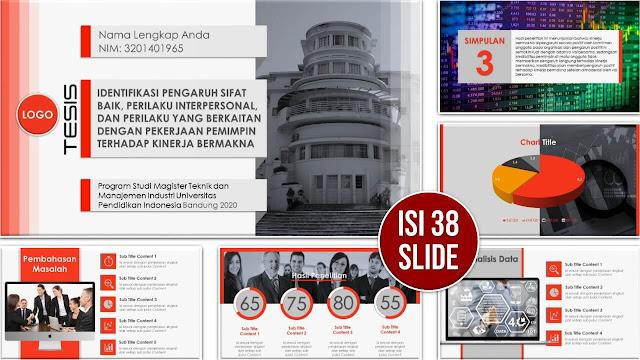 Slide PPT yang Menarik untuk Sidang Tesis