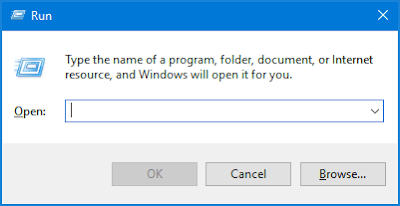 Kumpulan Daftar Perintah Run Komputer Windows