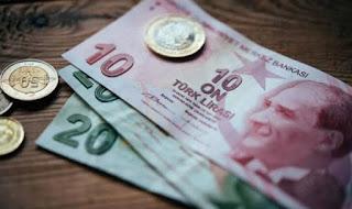سعر صرف الليرة التركية مقابل العملات الرئيسية الأحد8/12/2019