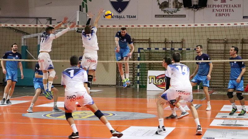 Ο Ηρακλής νίκησε με 3-0 τον Εθνικό Αλεξανδρούπολης στην πρεμιέρα της Volley League