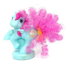 MLP Blue Clock Pony Year 8 Ponytail Ponies Petite Pony