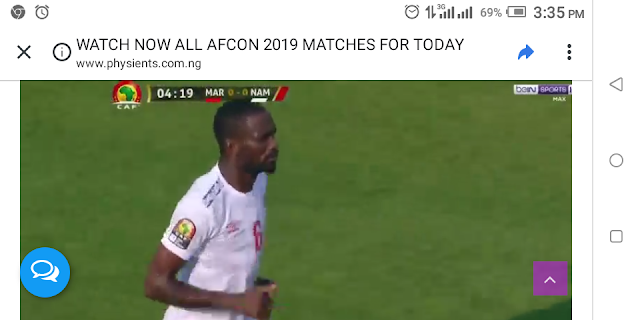 WATCH NOW ALL AFCON 2019 MATCHES FOR TODAY