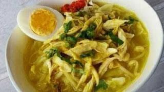 Resep Soto Ayam Lamongan Jawa Timur