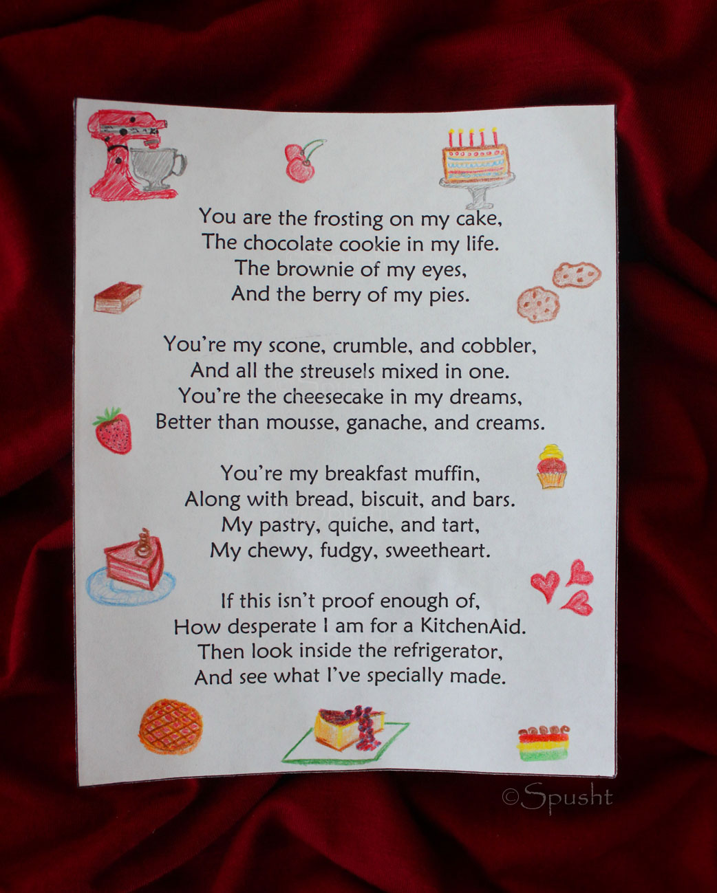 Spusht: Birthday Surprise for Husband