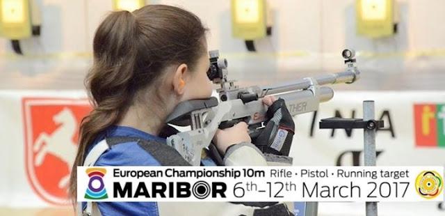TIRO DEPORTIVO - Campeonato de Europa de tiro en 10 m 2017 (Máribor, Eslovenia)