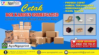 Cetak Kardus Box Custom Murah di Regol Bandung