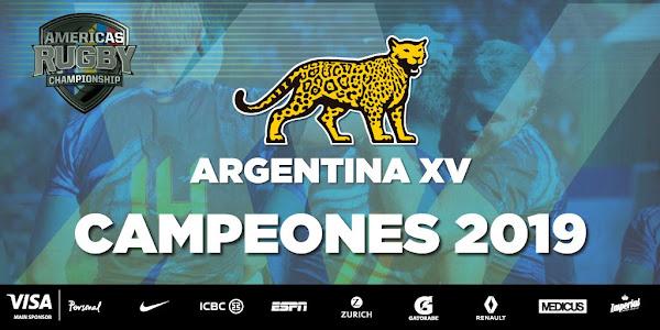 Argentina XV Campeón del #ARC2019