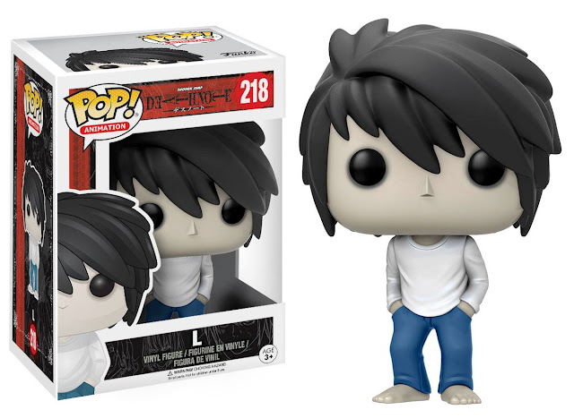 bonecos death note pop funko