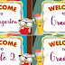 WELCOME Banners for KG to Grade 6 (FREE Download)