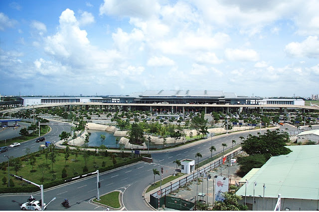 Tan Son Nhat international airport- the largest airport in Vietnam