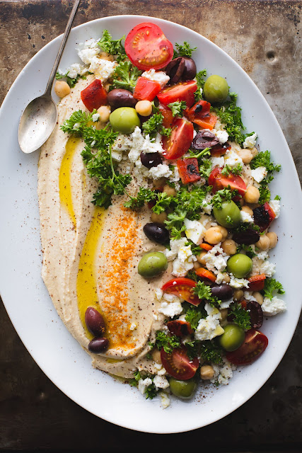 THE BEST LOADED HUMMUS