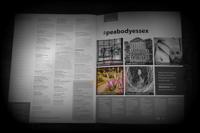 PEM Connections Magazine, Peabody Essex Museum, Salem, Massachusetts