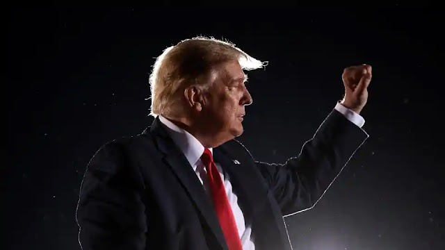 'Lock up the Bidens,' Donald Trump says at Georgia campaign rally
