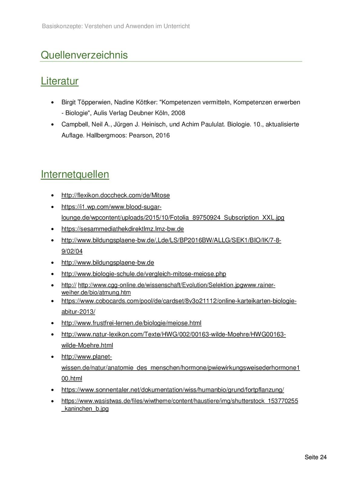 Einführung in die Fachdidaktik: Basiskonzepte