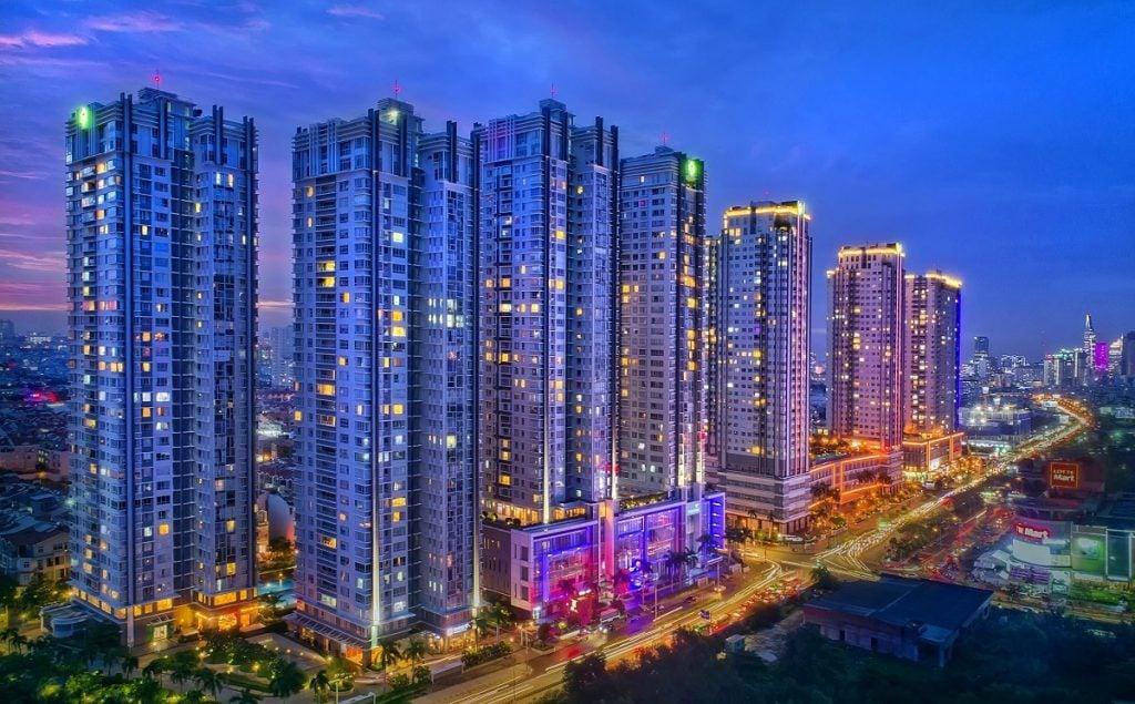 Dự án Sunrise city