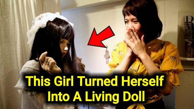 This Girl From Japan Turned Herself Into A Living Doll