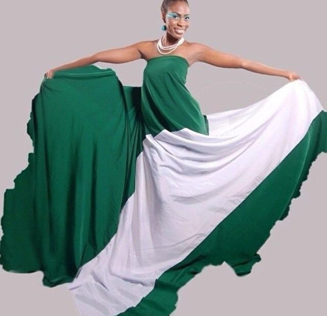 Nigeria Flag Independence