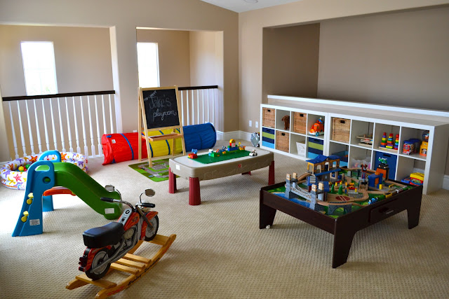 Fun kids playroom