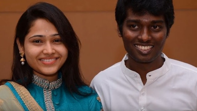 atlee kumar, wife, director, tamil, film