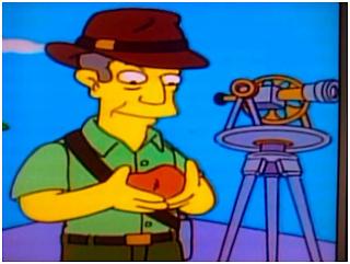 Los Simpsons, teodolito