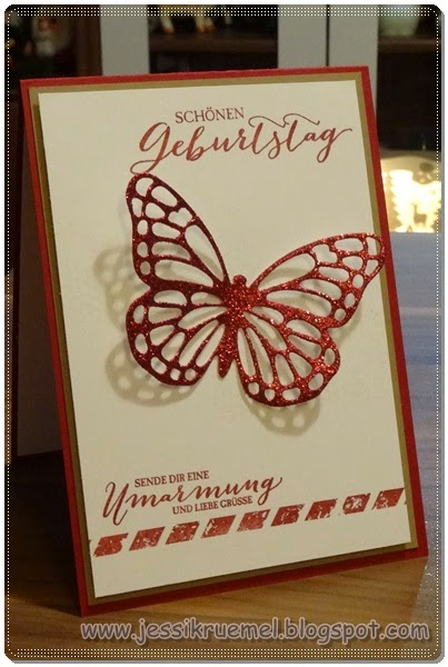 Stampin up, Schmetterling, Thinlits, BigShot, SAB, 2015, Frühlingsmini